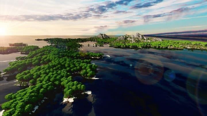 Der Ursprung landet Zorilak von Dasgnir Custom Terrain 8k von 8k Weltinseln 11