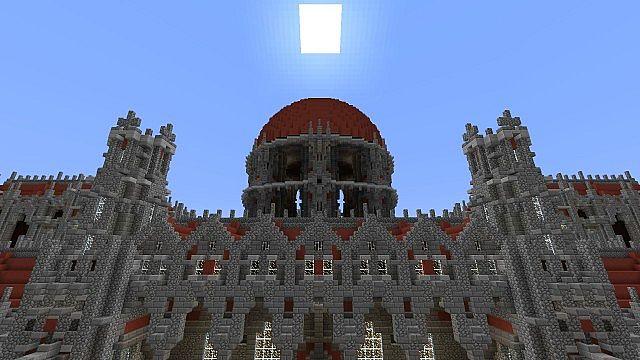 Ceretien Palace Minecraft Schloss 4
