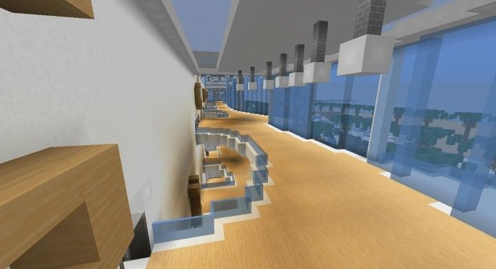 Alleron Convention Center Alleron City Minecraft Gebäude Ideen erstaunliche Büro Stadt Glas Phantasie 12