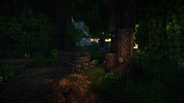 Stadtfelsen eine mittelalterliche Burg minecraft Bauideen Download Berge 6