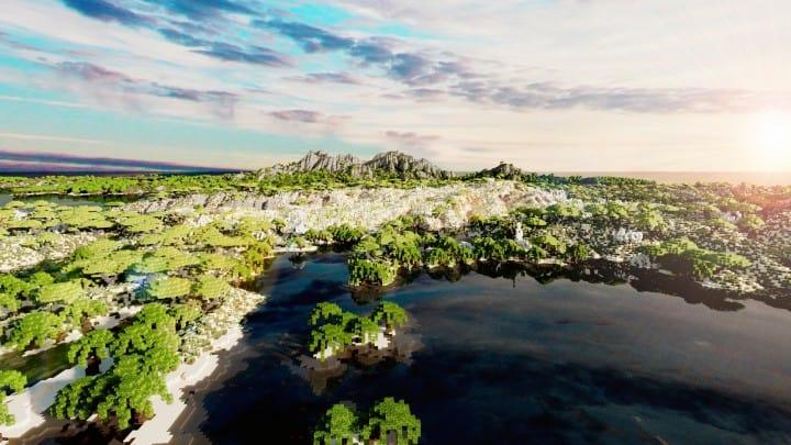 Der Ursprung landet Zorilak von Dasgnir Gelände 8k von 8k Weltinseln 16