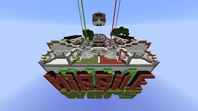 Missile Wars Minispiel für 1.8.1 Minecraft Bauideen
