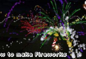 Wie man Fireworks in Minecraft 1.6.2 macht!