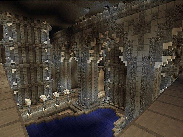 Mittelalterliche burg und dorf minecraft building ideen 6