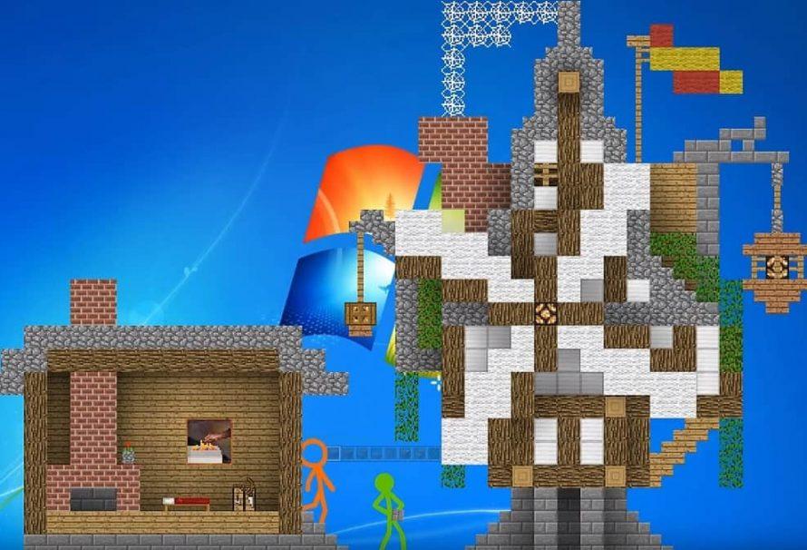 Windows Animation vs Minecraft