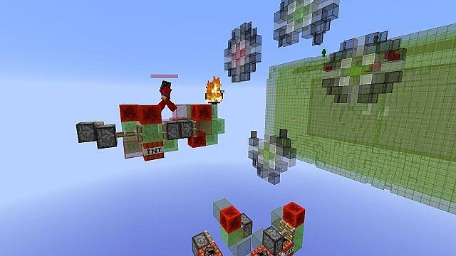 Missile Wars Mini Game für 1.8.1 Minecraft Bauideen 5