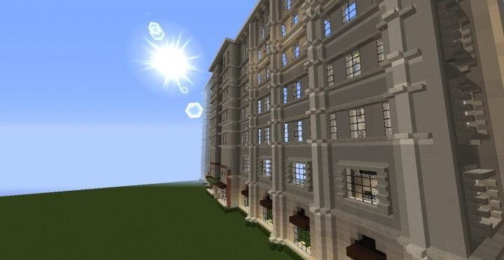 Die Grand Peninsula Hotel 1920er Jahre Minecraft Gebäude Download speichern 4