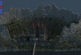 Schloss von WhiteCliff | Berge, Motte und Mauer