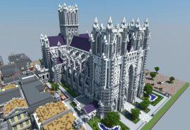 XVII Jahrhundert Kathedrale und Stadt
