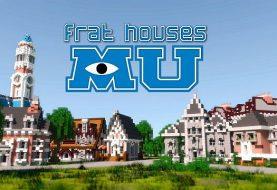 Monster Universität Frat Häuser