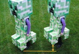 Teleskop Minecraft Creeper Kostüm