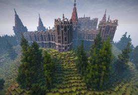 Verlassene mittelalterliche Burg