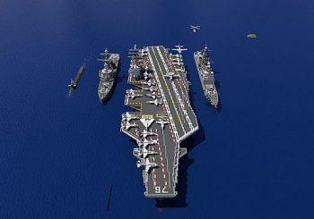 Träger Streikgruppe   USS Ronald Regan + Mehr!