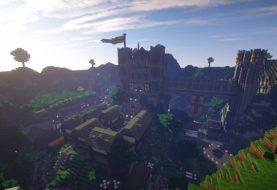 Gefallene Königreich-Abenteuer-Karte