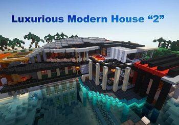 Luxuriöses modernes Haus