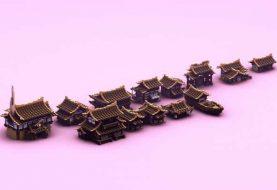 Japan Häuser Bundle