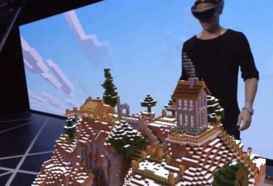 Neues Minecraft für HoloLens kommt von Microsoft!